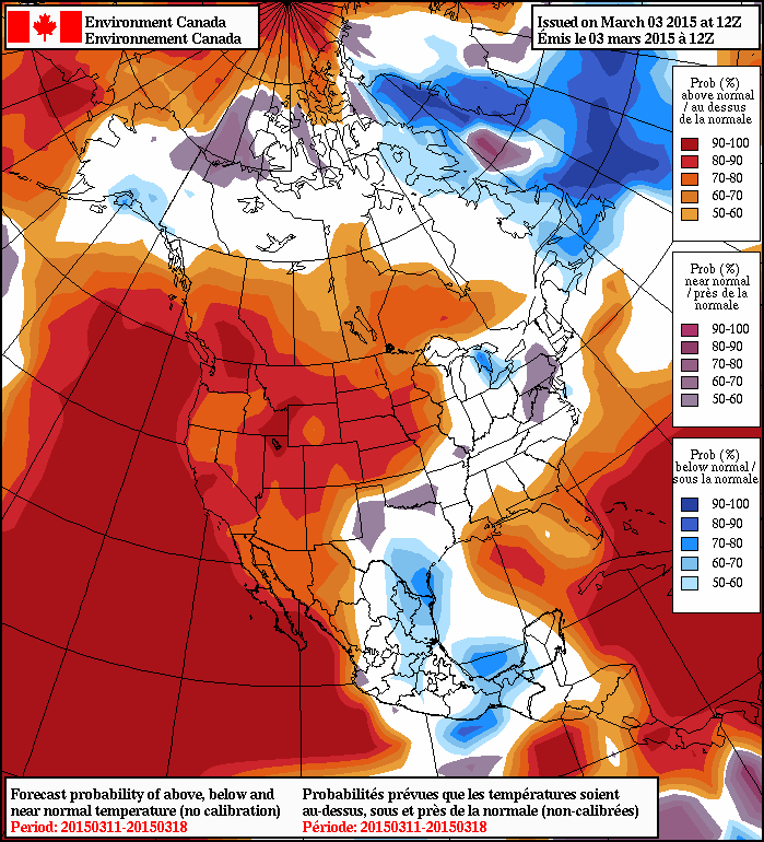 NAEFS 8-14 Temperature Anomaly Forecast