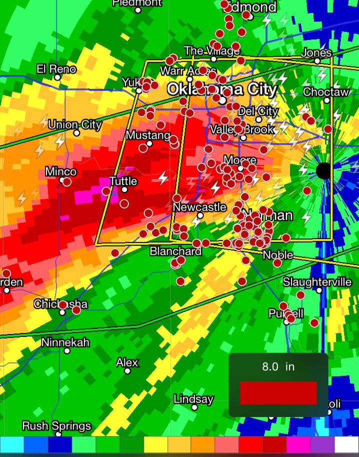 Oklahoma Flooding Rains
