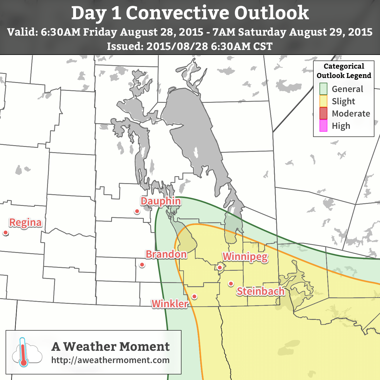 AWM Day 1 Convective Outlook